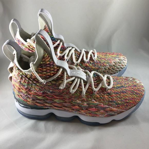 a841884588899 Nike Lebron 15 multicolor fruity pebbles sz9.5. M 5c5fb69ac89e1d1f6c781ce0